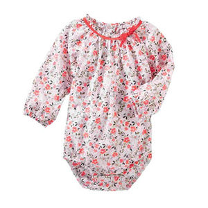 Oshkosh B'gosh Long Sleeve Bodysuit Baby Girl